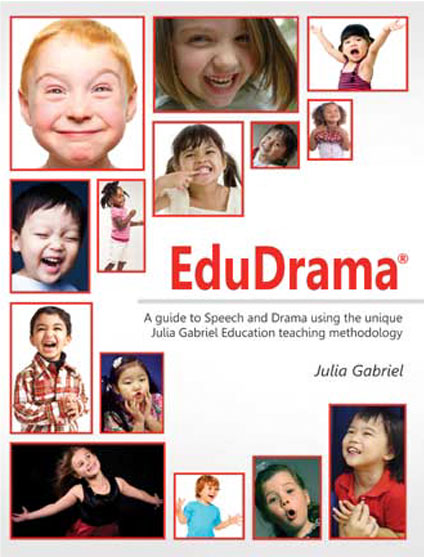 Cover designed for children's drama educational title for teachers